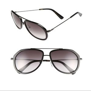 MCM Women's Aviator Acetate Frame Sunglasses